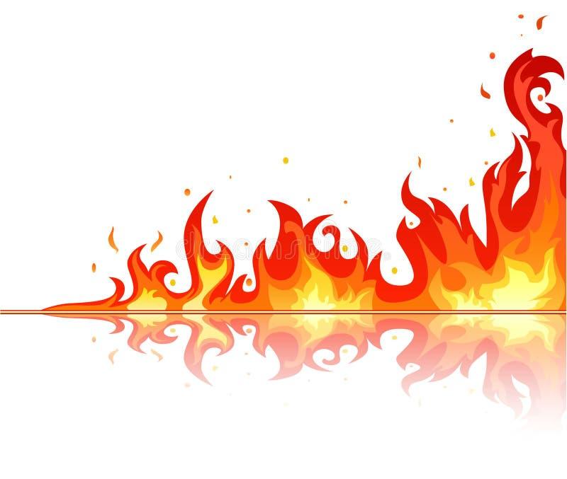 Fire stock illustration