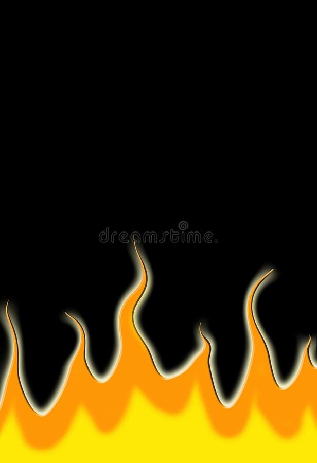 Download Fire stock illustration. Image of black, background, fires - 1722471