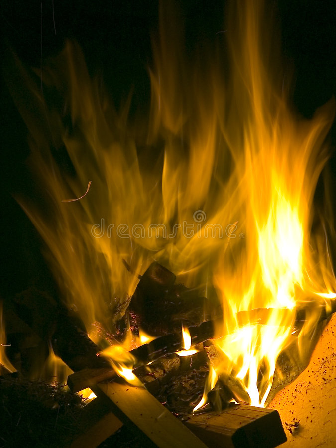 Download Fire stock image. Image of bright, explode, heat, tree, board - 18851