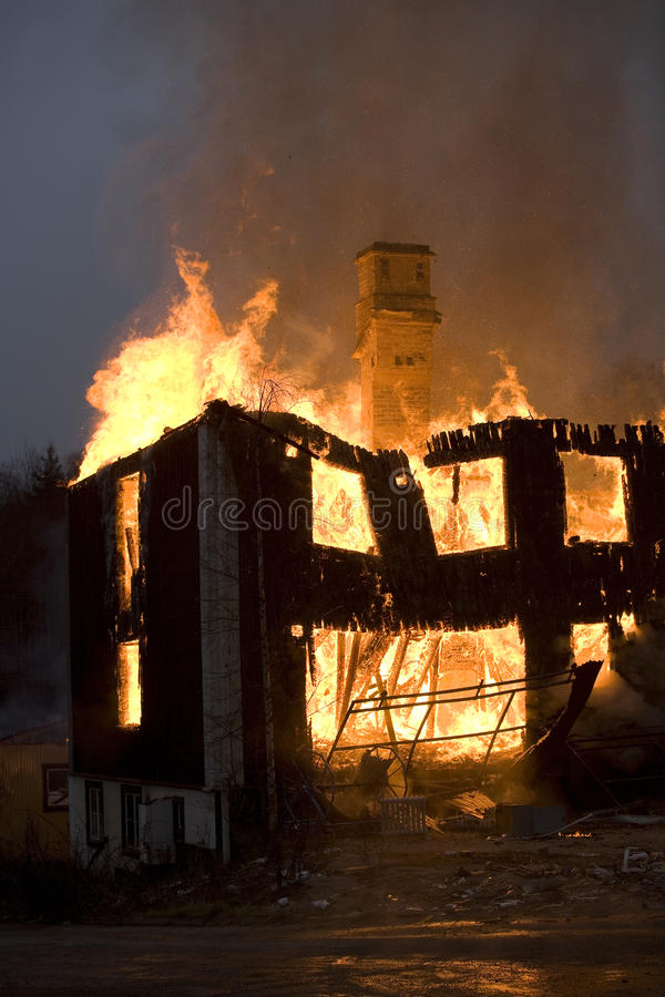 Download Fire stock photo. Image of inferno, exterior, building - 24925904