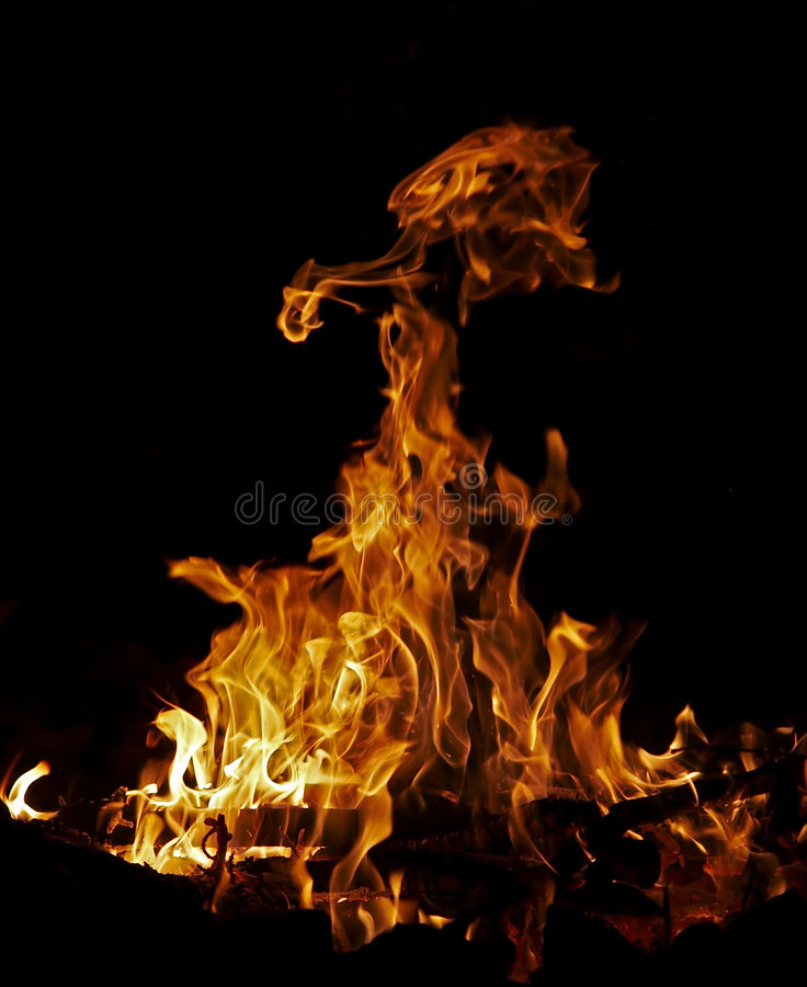 Download Fire stock photo. Image of abstraction, bright, black - 3669828