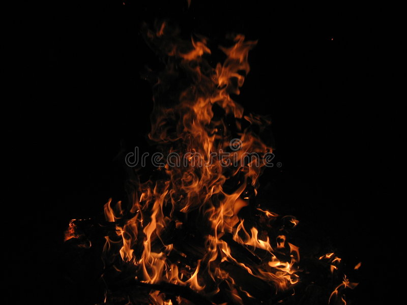 Download Fire stock photo. Image of wood, burn, heat, blaze, abstract - 540546
