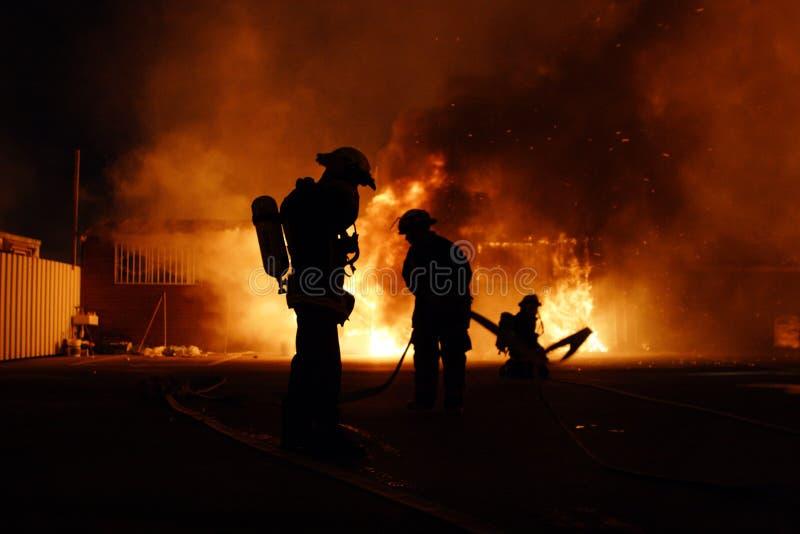 Download Fire stock photo. Image of extinguishing, heat, firemen - 5519104