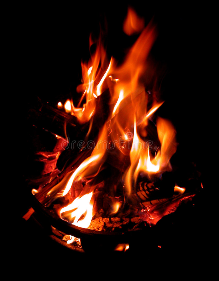 Download Fire stock image. Image of ashes, burn, campfire, danger - 71663