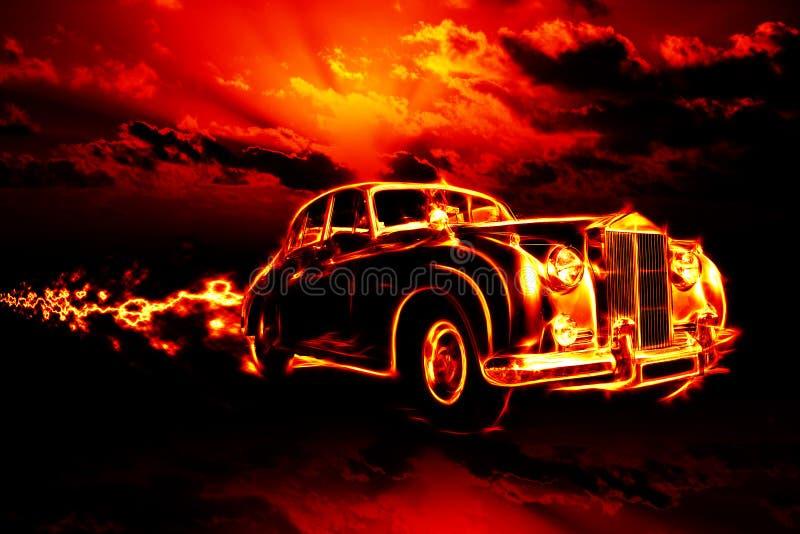 Fire royalty free illustration