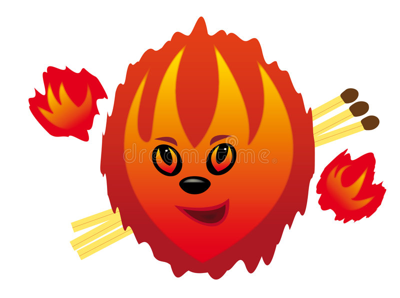 Download Fire stock vector. Illustration of fireman, danger, illustration - 9064553