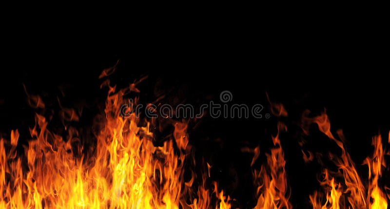 Fire. Abstract the fire flame background stock illustration