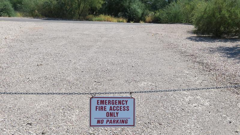 Download Fire Access Sign stock image. Image of line, obstruct - 100811379