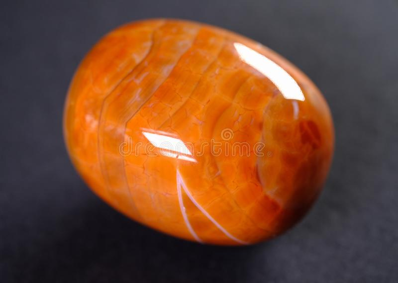 Fire agate royalty free stock photos