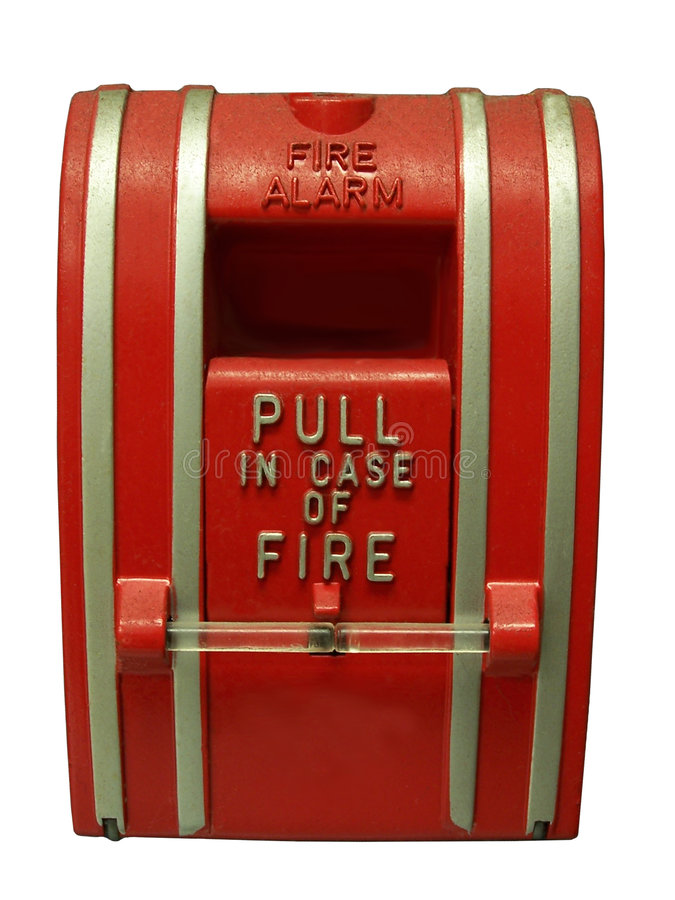 Fire Alarm stock photography