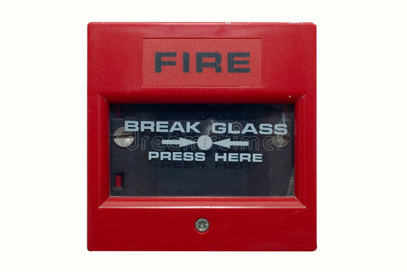 Download Fire Alarm stock photo. Image of glass, damage, extinguish - 348838