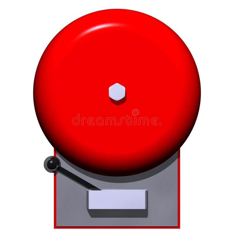 Fire Alarm royalty free illustration