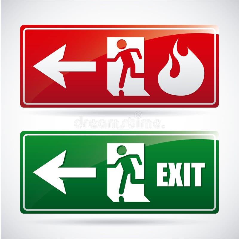 Fire alarm design vector illustration