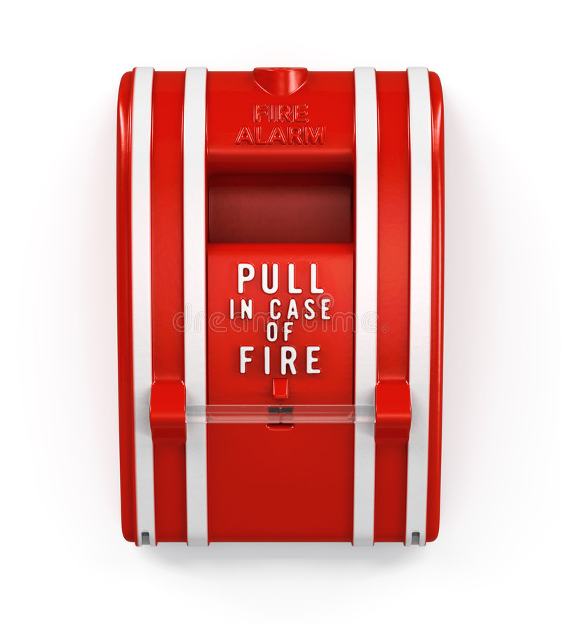 Download Fire Alarm Pull Station stock illustration. Image of rescue - 9183032