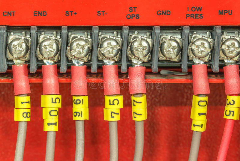 Fire alarm system. Water sprinkler control system stock photography