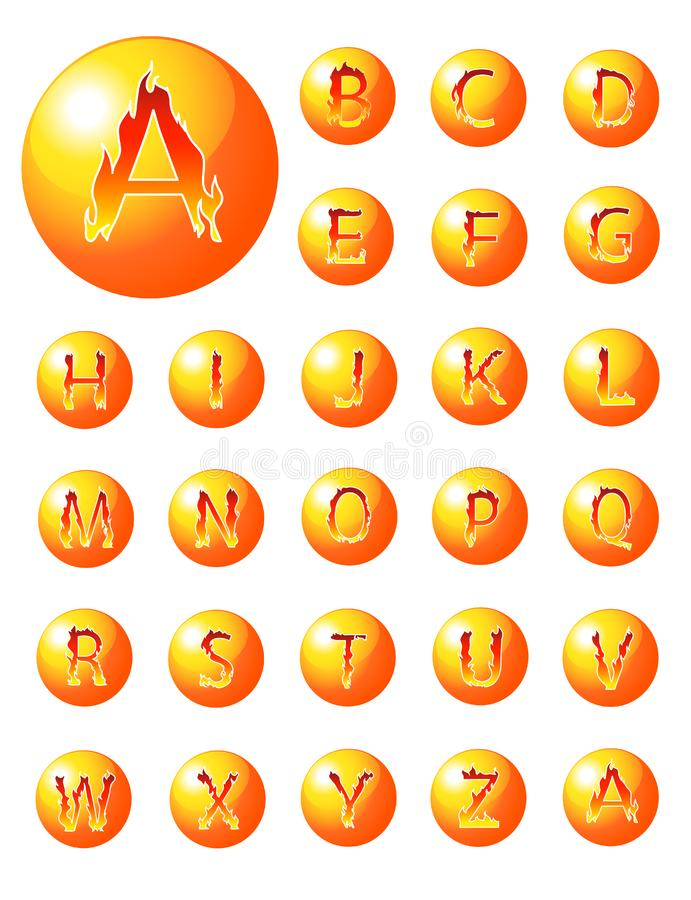 Fire alphabet collection