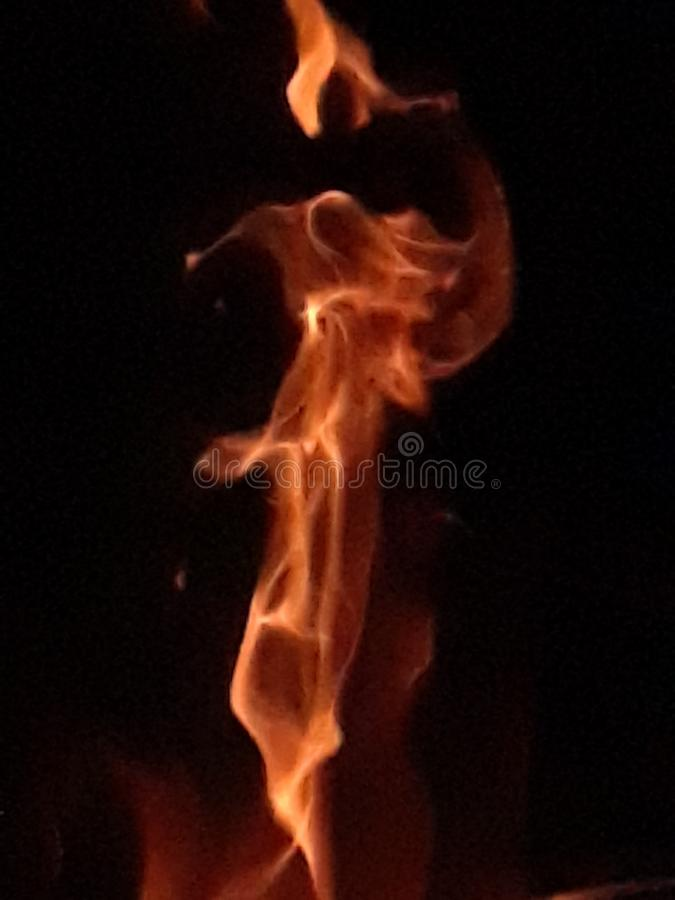 Fire Angel royalty free stock images