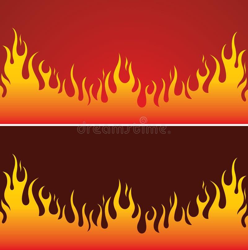 Download Fire Background stock vector. Image of eternity, danger - 10283153