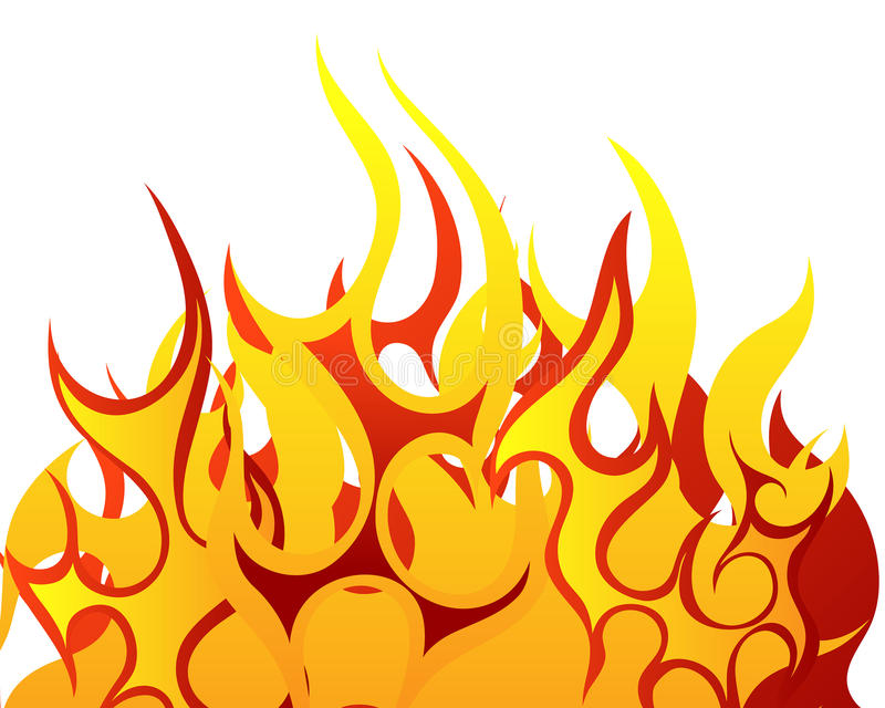 Fire background royalty free stock image