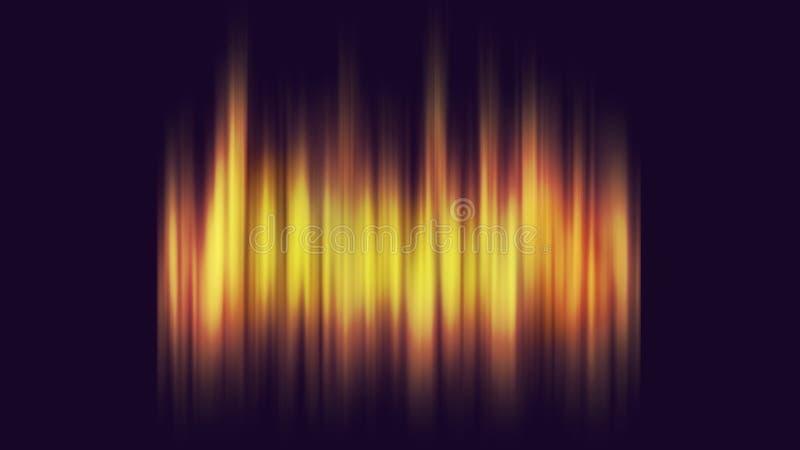 Download Fire Background On Dark Blue Stock Illustration - Image: 21447049