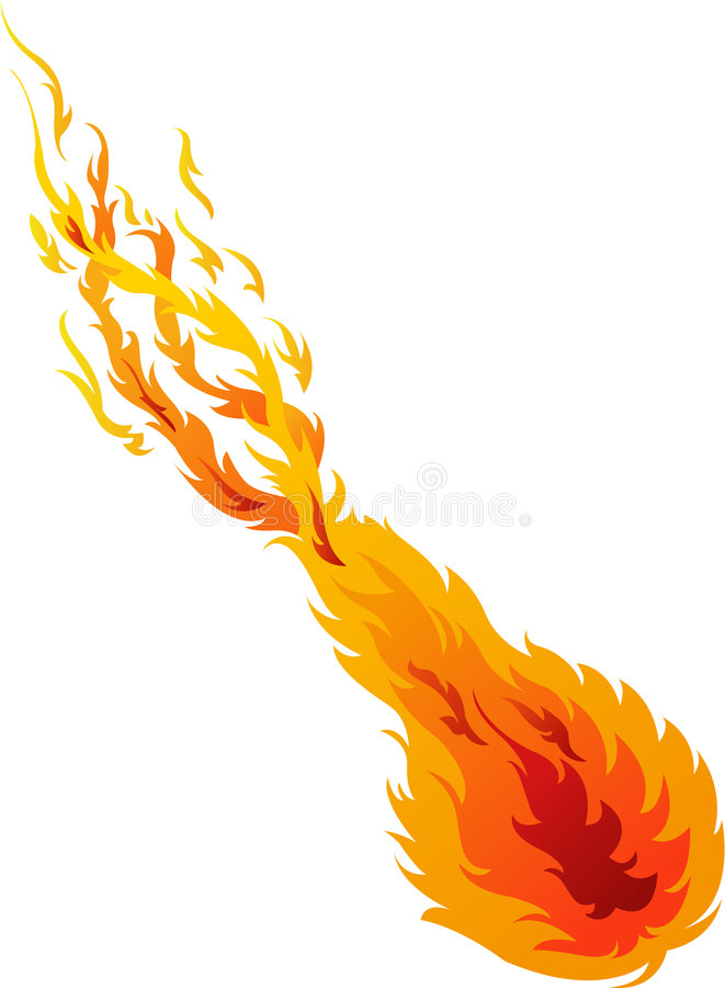 Download Fire Ball 02 stock vector. Image of artwork, illustration - 3368789