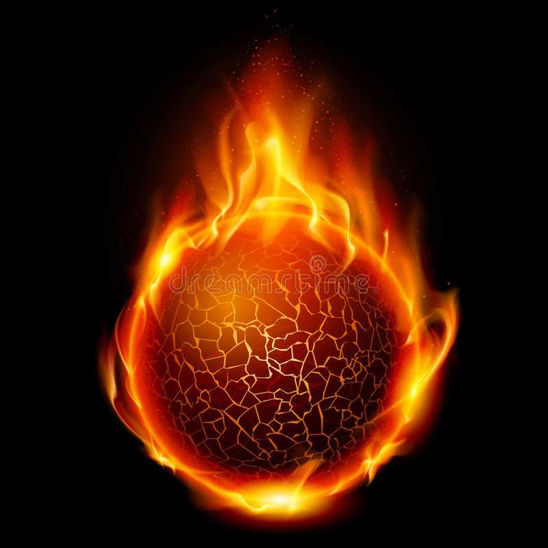 Free Fire Ball Royalty Free Stock Images - 20503539