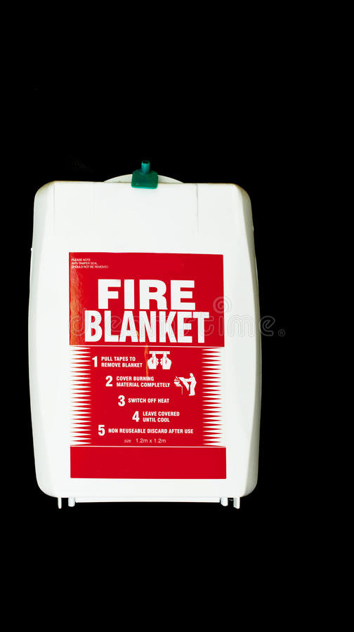 A Fire Blanket Royalty Free Stock Photography