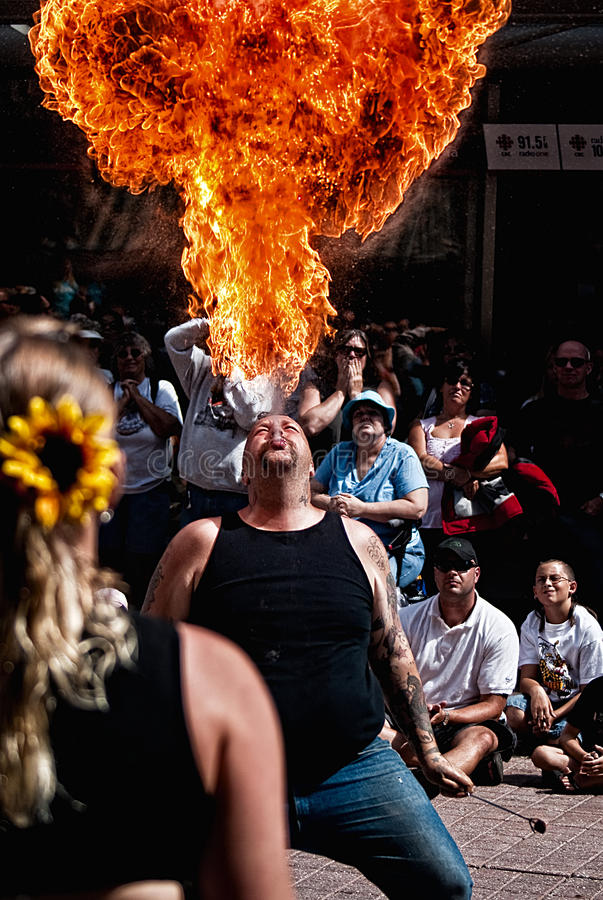 Download Fire Breather Editorial Photography - Image: 15428307