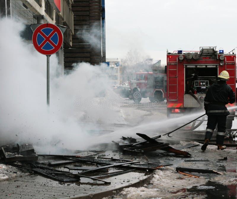Fire Brigade Stock Photo