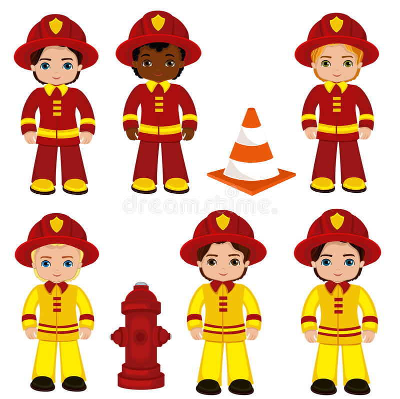 Fire brigade cute boys cartoon vector illustration stock vector download fire brigade cute boys cartoon vector illustration stock vector illustration of hydrant thecheapjerseys Choice Image
