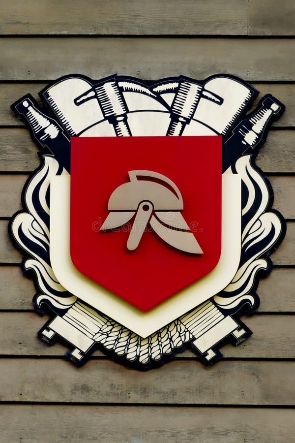 Fire Brigade Logo stock images
