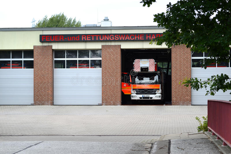 Fire Brigade Station stock image