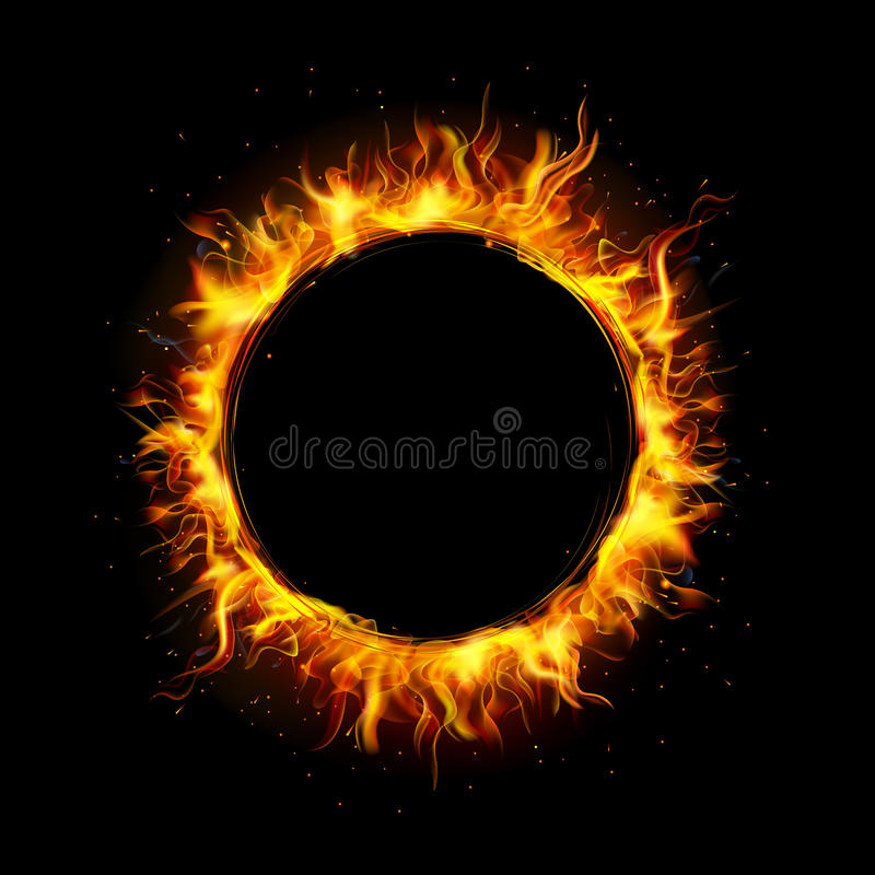 Free Fire Circle Stock Images - 27809684
