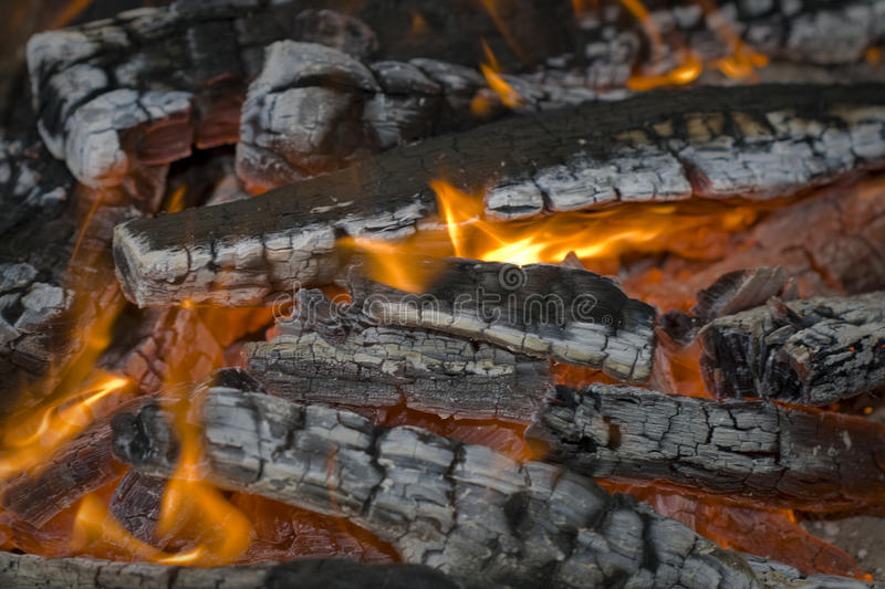 Fire close up royalty free stock photo