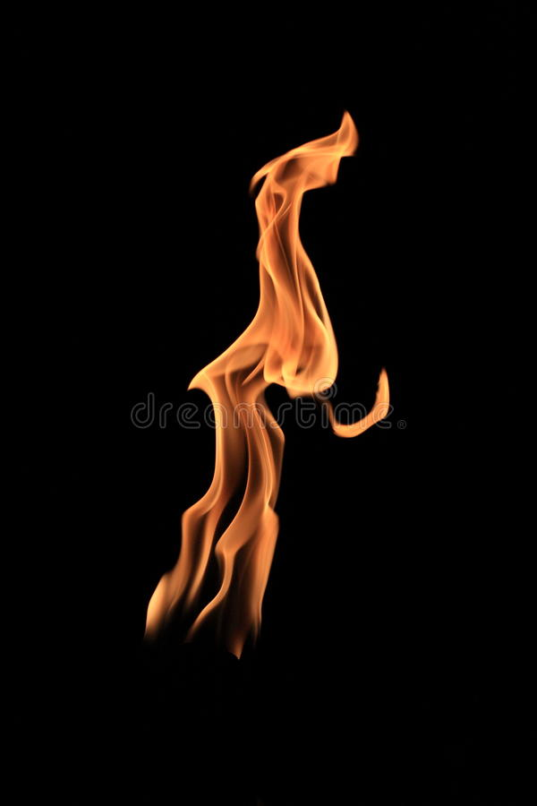 Free Fire Dancer Royalty Free Stock Photo - 13444895