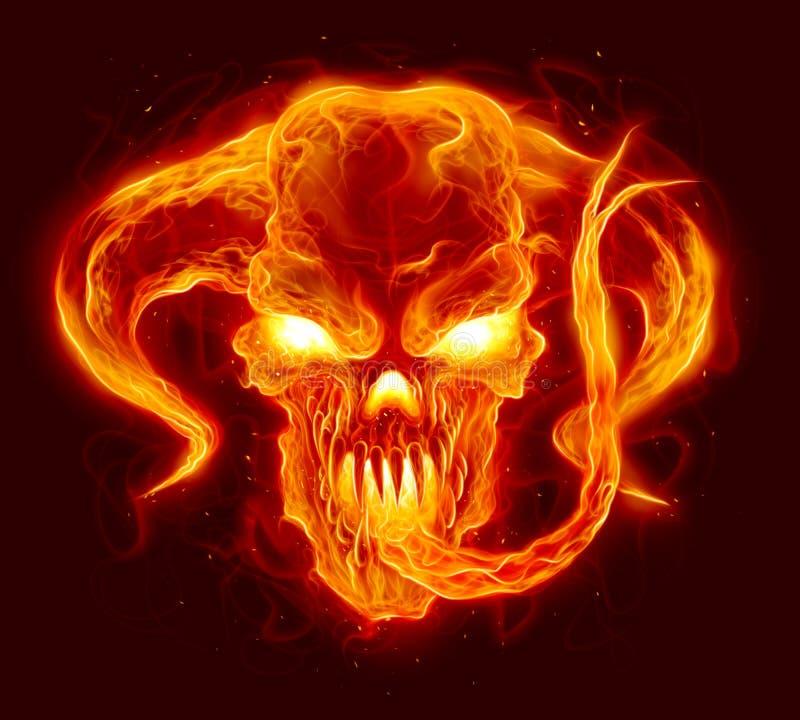 Free Fire Demon Illustration Stock Image - 152302851