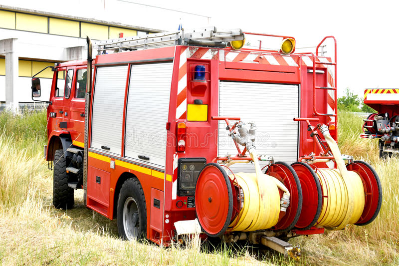 Fire department stock image
