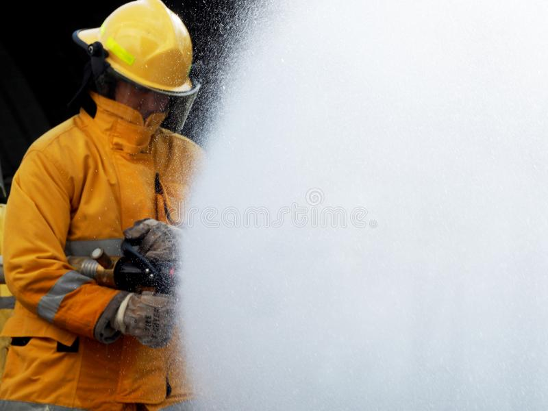 Fire departments and emergency response teams stock photography