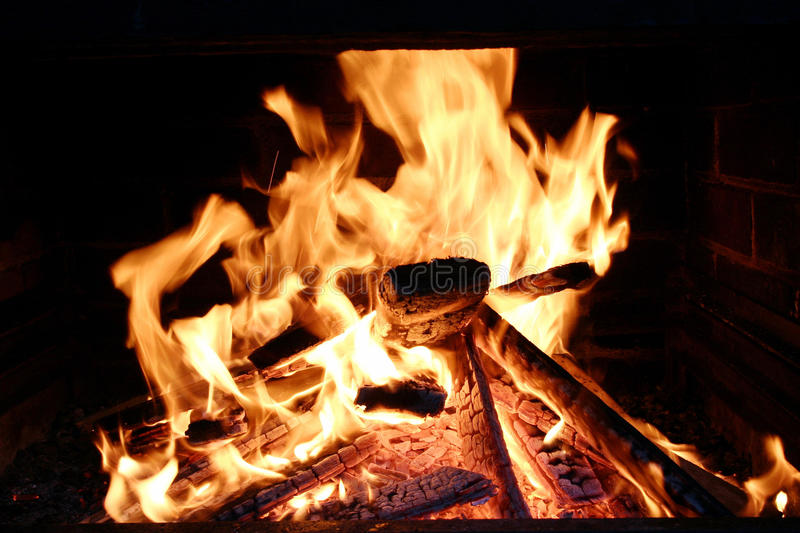 Download Fire stock image. Image of heating, fire, dark, smoke - 31471935