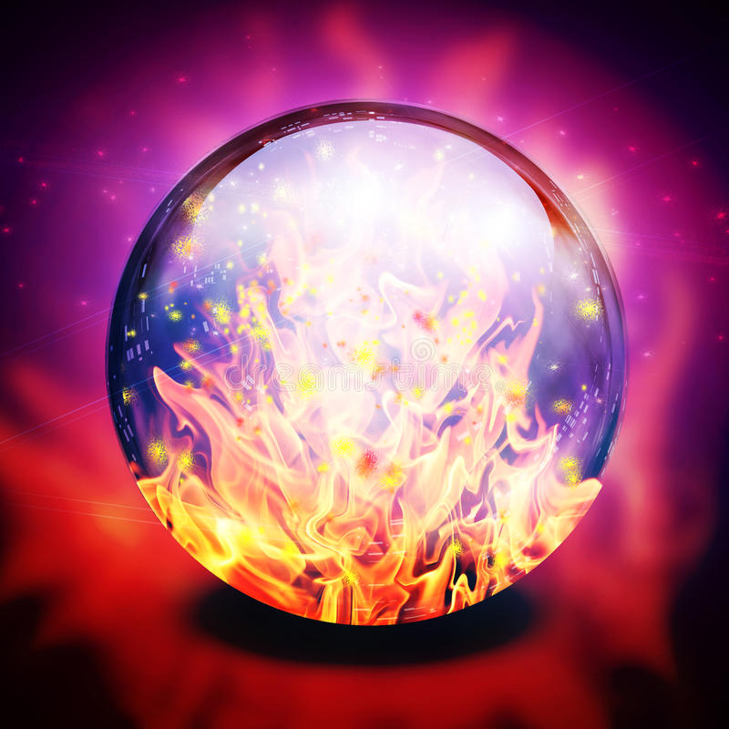 Fire in diviners sphere