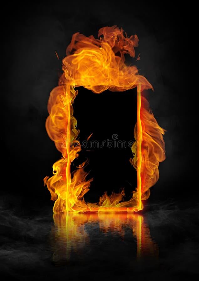 Download Fire door stock illustration. Illustration of illustration - 32494791 & Fire door stock illustration. Illustration of illustration - 32494791