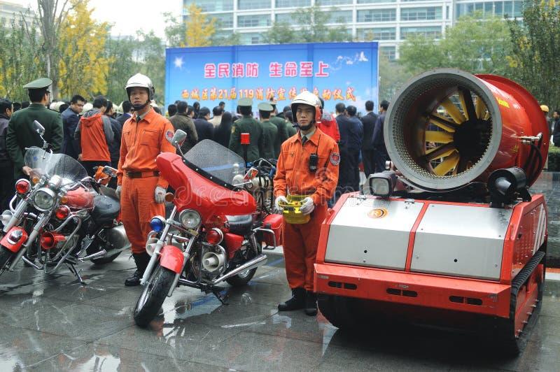 Fire Drill Editorial Photo