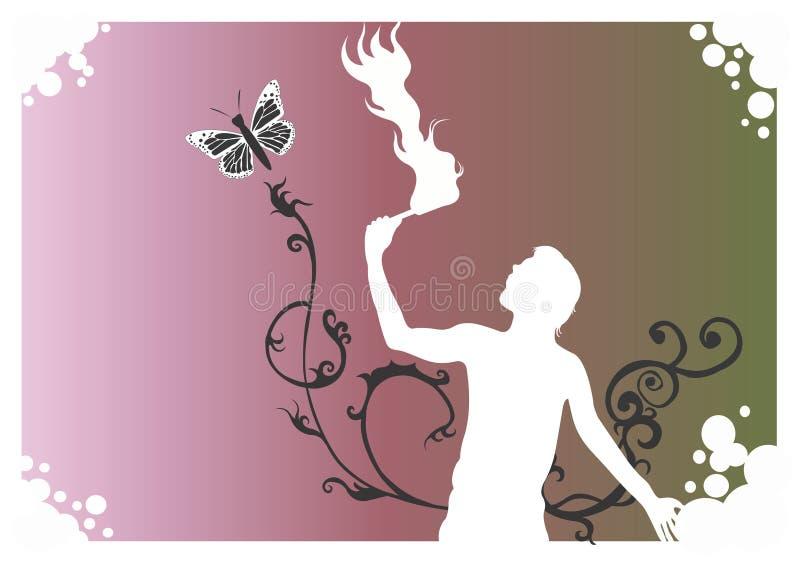 Fire-eater vector illustration