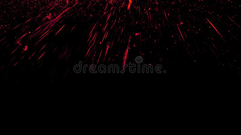 Fire embers particles texture overlays . Burn effect on isolated black background. Design element stock photography