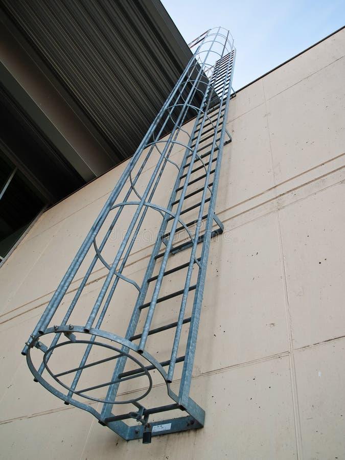 Fire Emergency Escape Ladder Stock Image Image Of Design
