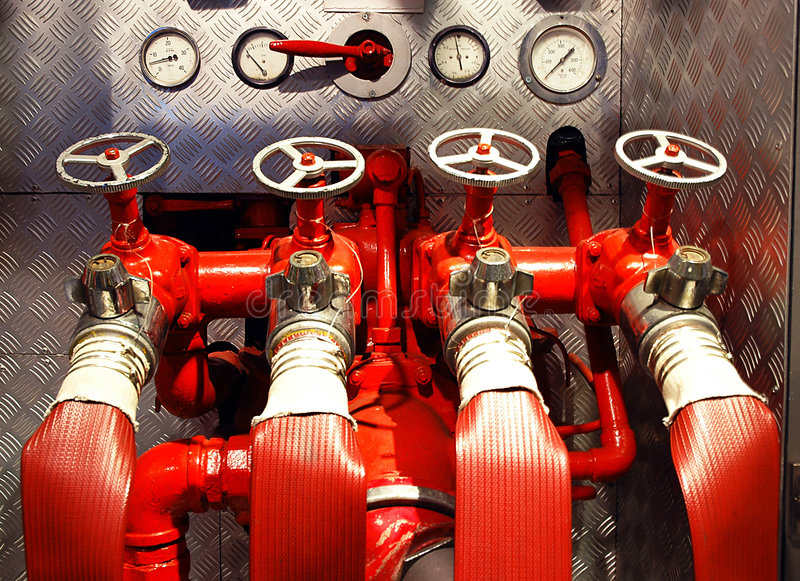 Download Fire Engine stock image. Image of valve, adapter, engine - 95257