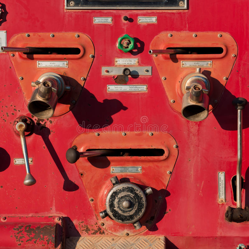 Download Fire engine control stock image. Image of panel, pressure - 23391015