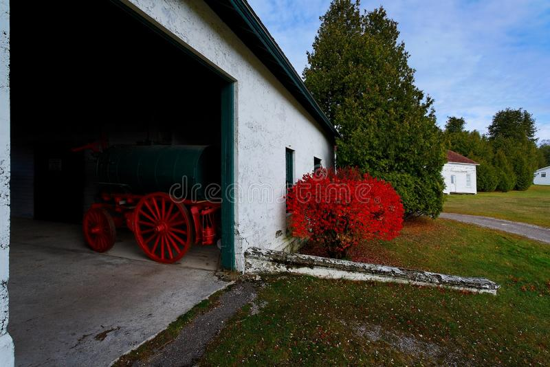 Download Fire Engine Red stock photo. Image of bush, historic - 23747046