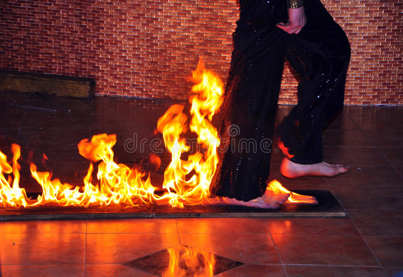 Fire Entertainment stock image