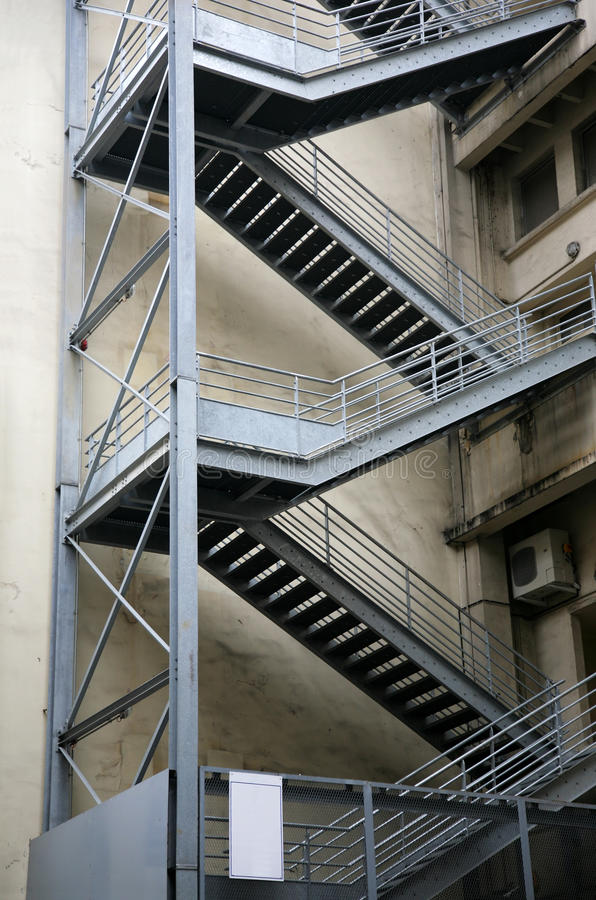Download Fire-escape stock image. Image of outdoors, building - 14127773